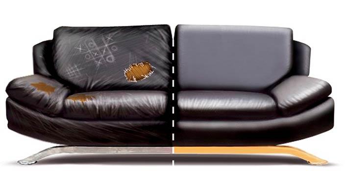 Обтяжке мягкой мебели