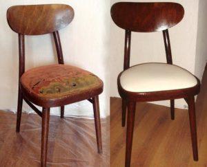 Перетяжка стульев в Студии Вельвет